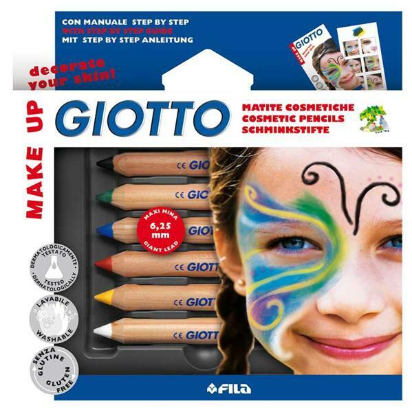 Crayons de maquillage, couleurs primaires