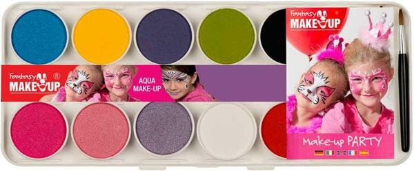 Peintures de maquillage Girls, 10 couleurs