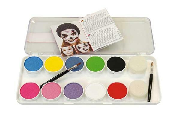 Schminkset Girls, 10 kleuren