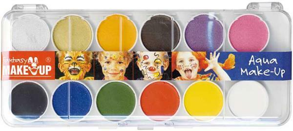 Schminkset, 12 kleuren