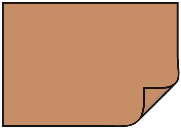Gekleurd tekenpapier - 10 st., 50 x 70 cm, lichtbr