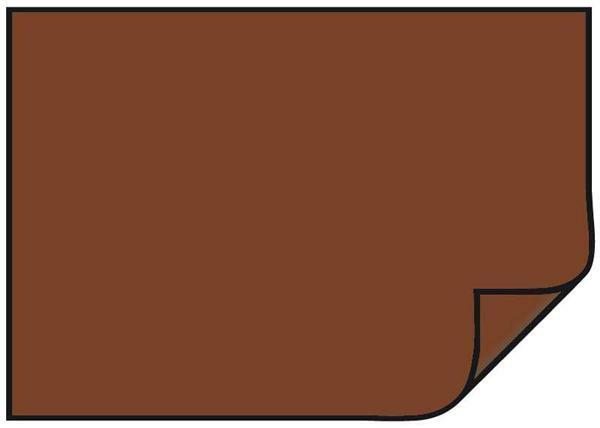 Gekleurd tekenpapier - 10 st., 50 x 70 cm, chocobr