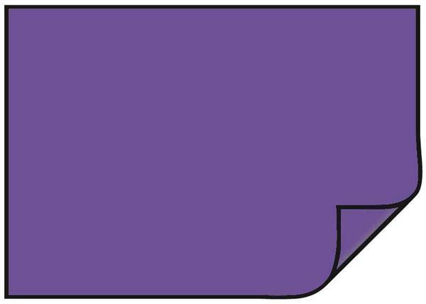 Carton teinté - 10 pces, 50 x 70 cm, violet foncé