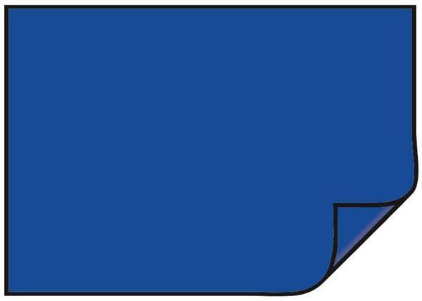 Carton teinté - 10 pces, 50 x 70 cm, bleu roi