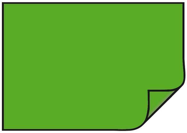 Carton teinté - 10 pces, 50 x 70 cm, vert herbe