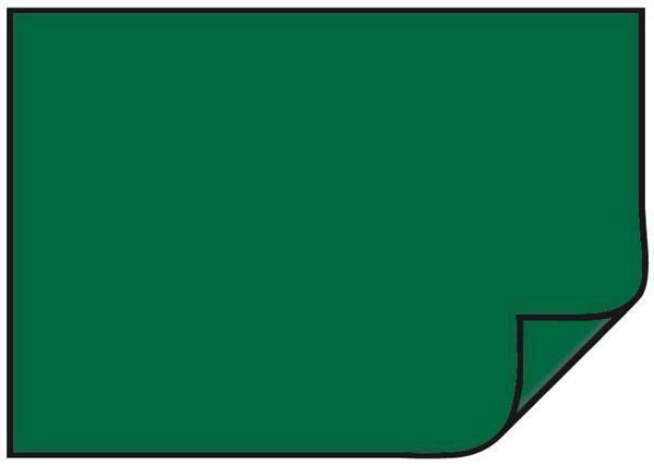 Carton teinté - 10 pces, 50 x 70 cm, vert  foncé