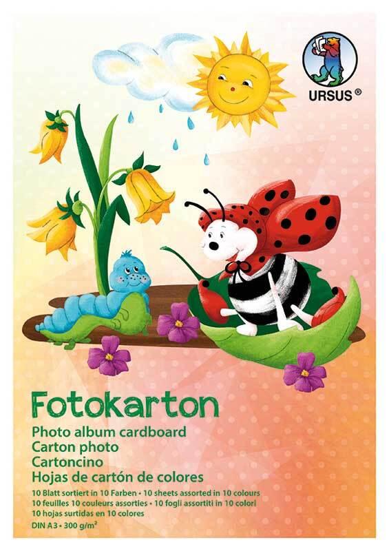 Bloc de carton photo - 10 feuilles, A3