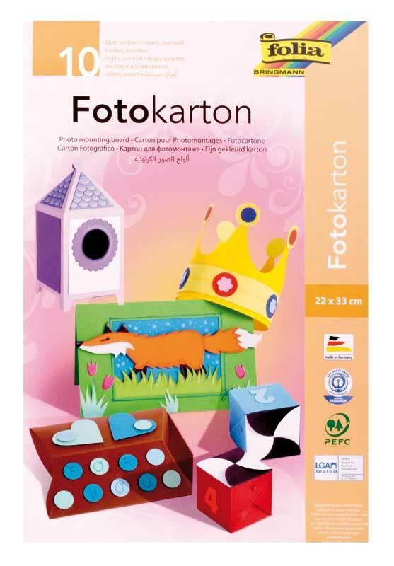 Fotokartonblock - 10 Blatt, A3