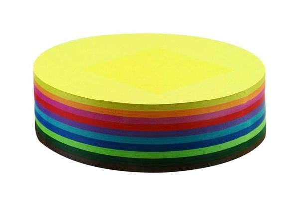 Papier à plier - 500 pces, Ø 15 cm