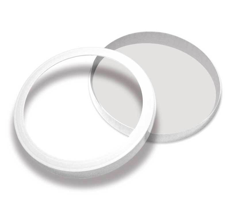 Lampion bodem en bovenring - 10 st./pak, Ø 15,3 cm
