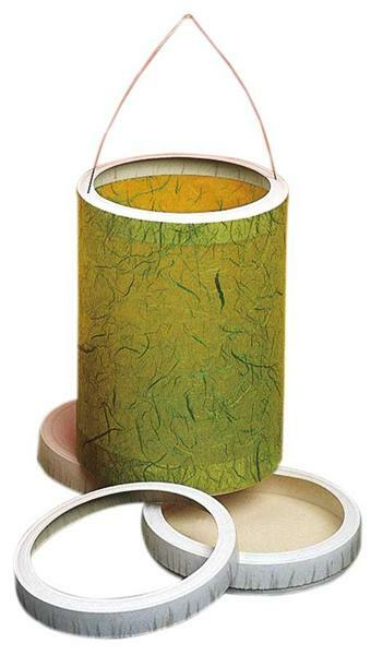 Couvercle+fond de lanterne (cart.fromage), 10 pces
