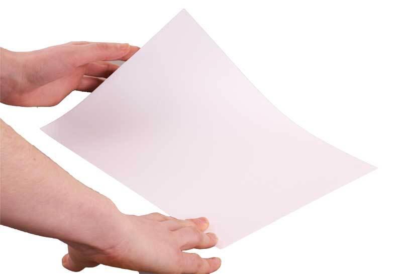 Carton vierge blanc, A4, 160g, ép. 0,2 mm