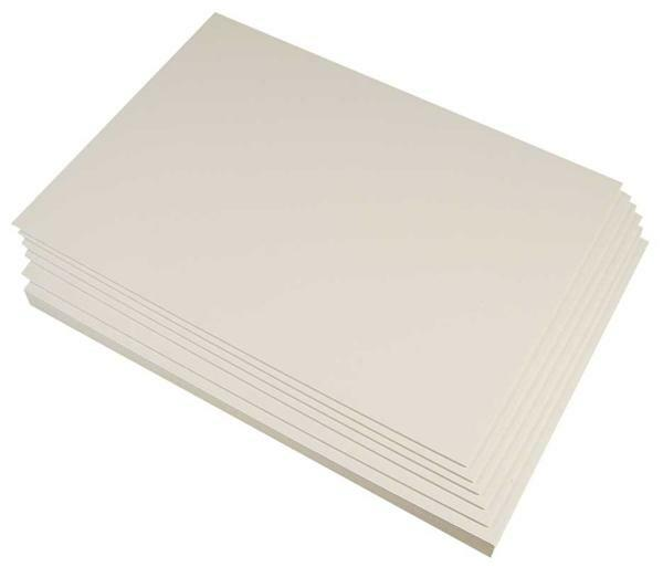Carton 2 faces blanches, A3, 845g/m², ép. 1,3 mm