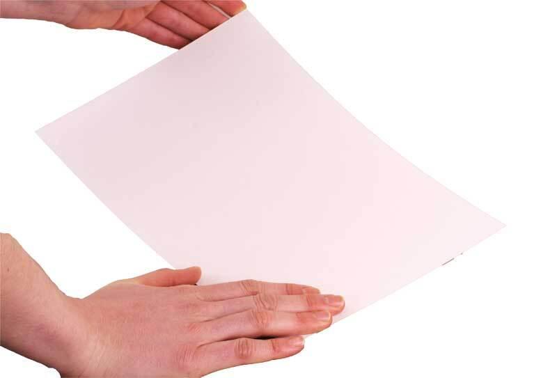Blanko Karton beidsg. weiß, A4, 1495 g, 2,3 mm