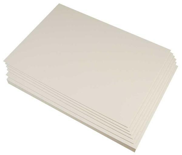 Blanko Karton beidseitig weiß, A3, 300g/m²