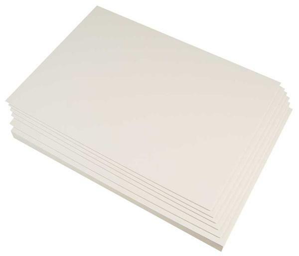 Blanco karton tweezijdig wit, A4, 300 g/m²