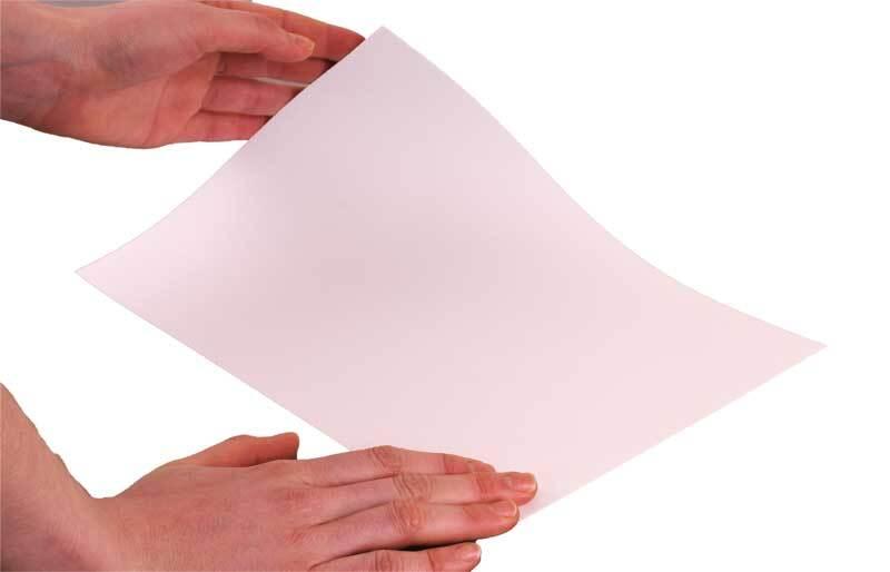 Blanko Karton beidsg. weiß, A4, 300g, 0,4 mm