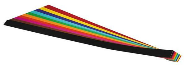 Rubans de tressage - 200 bandes, 1 x 50 cm