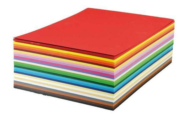 Fotokarton A4 - 250 vel/pak, gekleurd