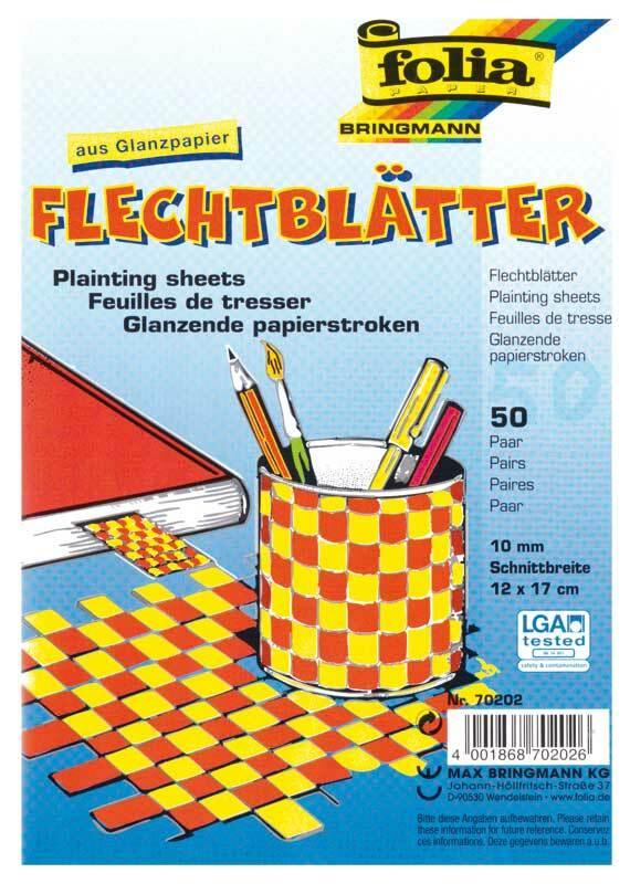 Flechtblätter - 50 Paar