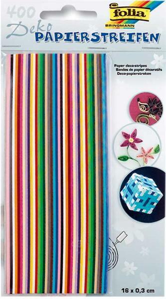 Deko Papierstreifen - 400 Streifen