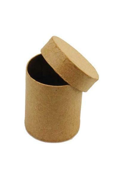 Papier-maché doos - mini, rond