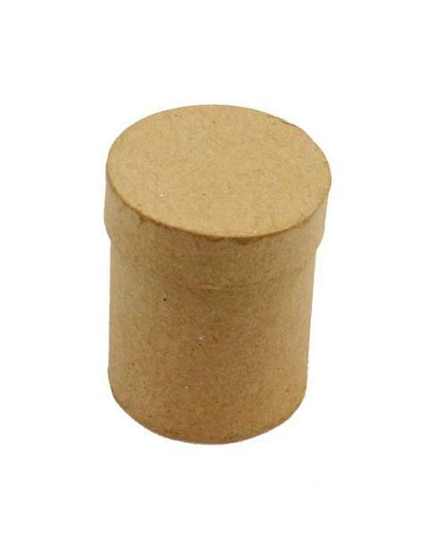 Pappmache Box - Mini, rund