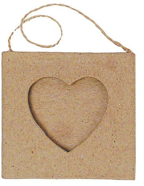 Papier-maché kader, hart klein