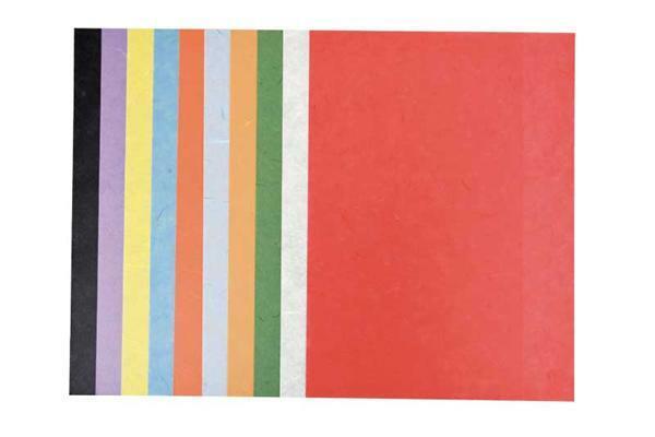Knutselmap zijdevloei / strozijde, 23 x 33 cm