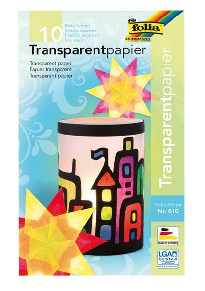 Papier transparent - set  Color