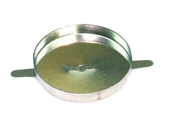 Theelichthouder van metaal - 50 stuks,  Ø 4 cm.