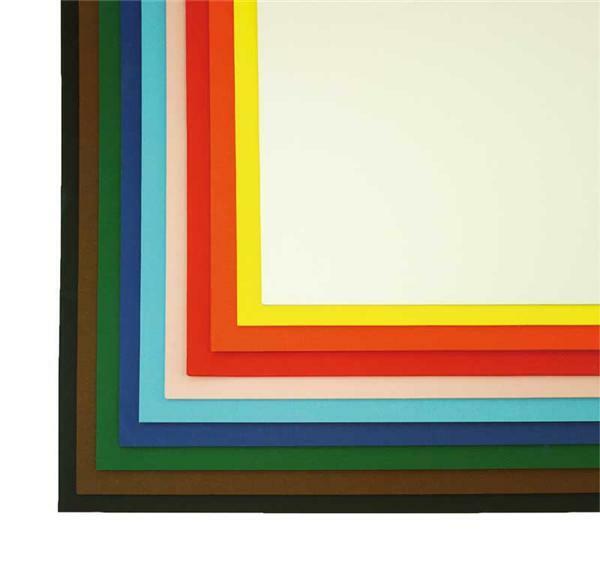 Fotokarton - 50 x 70 cm, 100er Pkg., bunt