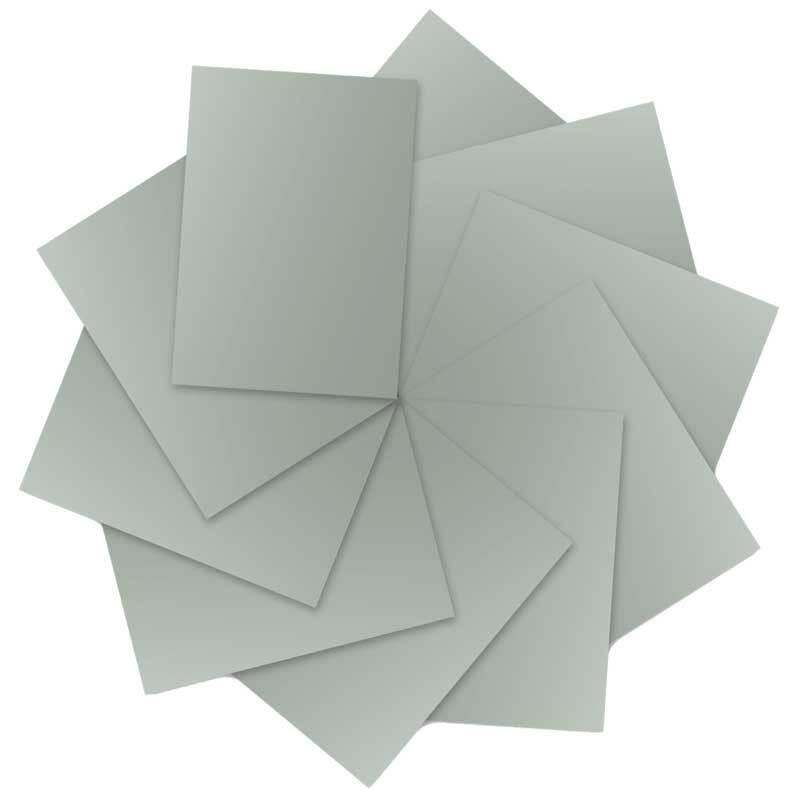 Fotokarton - 10 st./pak, 50 x 70 cm, zilver mat
