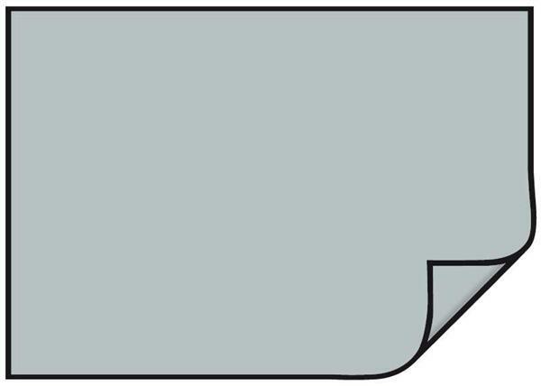 Gekleurd tekenpapier 10/pak, 70 x 50 cm, zilver ma