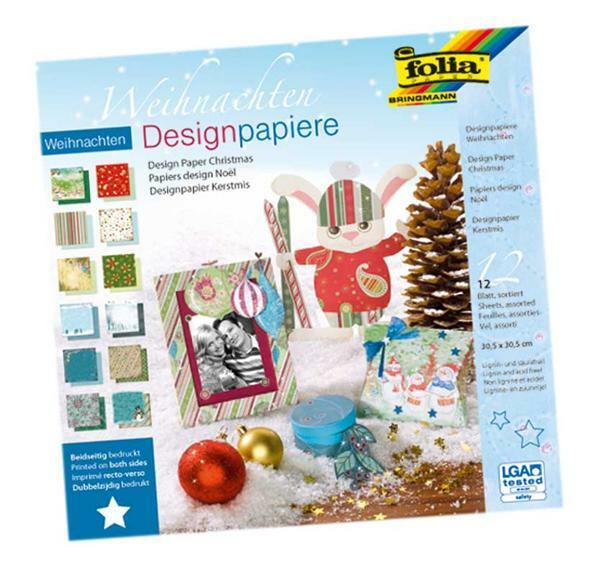 Designpapiere Weihnachten