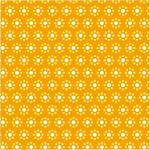 Papier à plier avec motifs - 15 x 15 cm, jaune