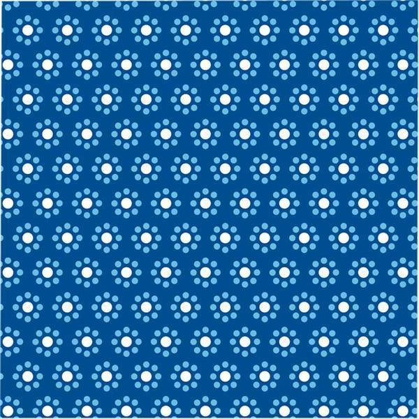 Faltblätter mit Motiven - 15 x 15 cm, blau