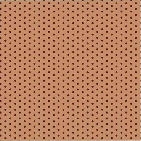 Faltblätter mit Motiven - 15 x 15 cm, braun