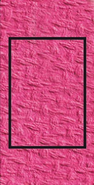 Passe-partoutkaarten rechthoekig, 3st., zuurstokro