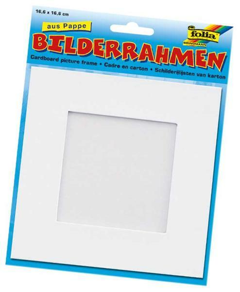 Blanco fotolijst - 16,6 x 16,6 cm