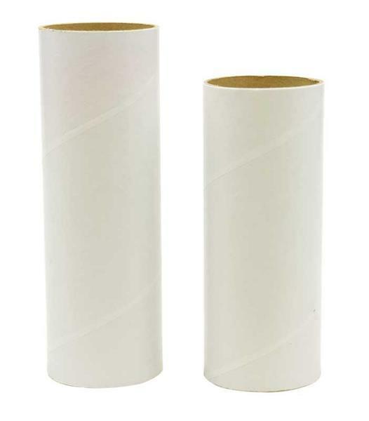 Blanco kartonnen koker - Ø 50 mm, ca. 50 cm