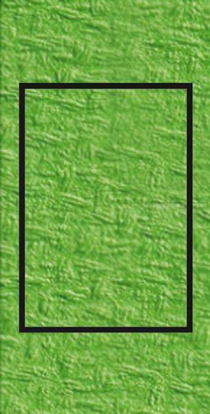 Passepartoutkarten rechteckig, 3er Pkg. hellgrün