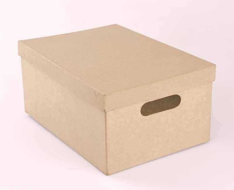 Pappmache Box - A4