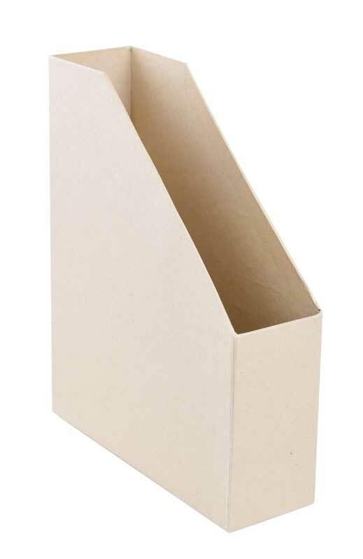 Pappmache Zeitschriftenhalter, ca. 30 x 8 cm