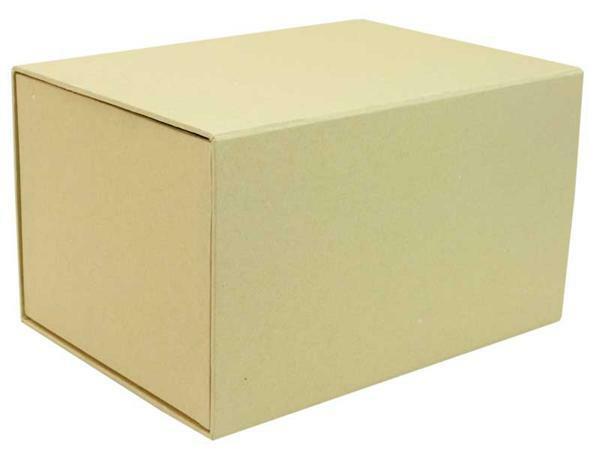 Papier-maché schuifdoosje, 22 x 16 x 13 cm