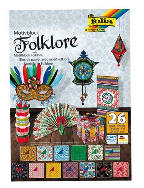 Bloc à motifs - Folklore