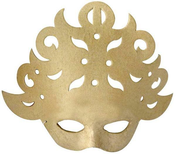 Papier-maché masker, ornament