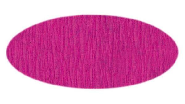 Knutselcrêpe - 50 cm, zuurstokroze
