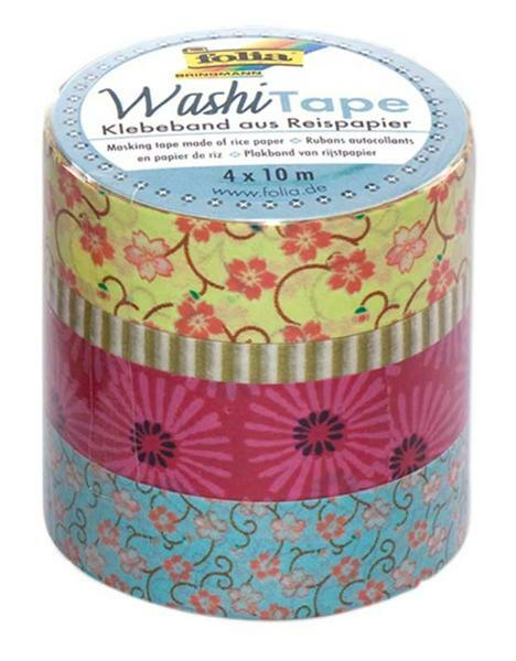 Washi Tape set - bloemenrij