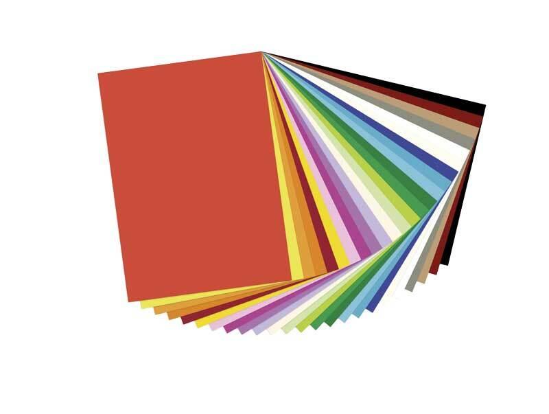 Carton pour photomontage - 25 feuilles, 25 x 35 cm